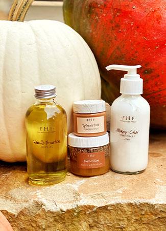 October Pumpkin Nail Service Special